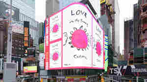 Messages Of Hope, Gratitude And Safety Replace Ads In Times Square