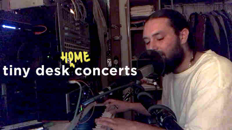 Nick Hakim Premieres New Music For His Tiny Desk At Home