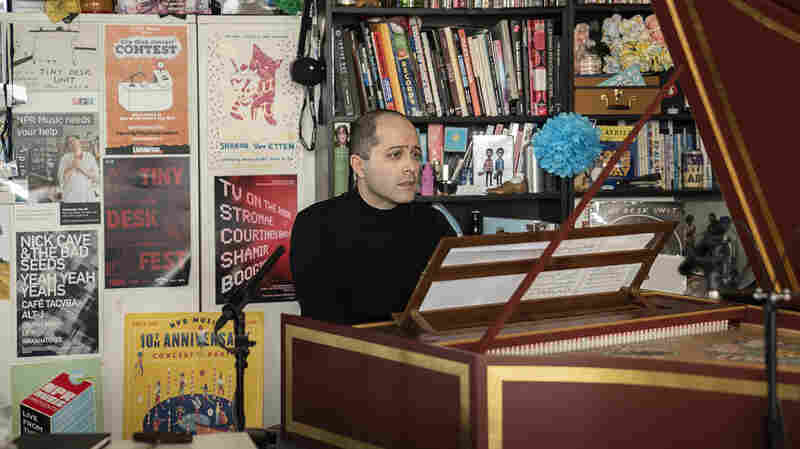 Watch Harpsichordist Mahan Esfahani Play The Tiny Desk