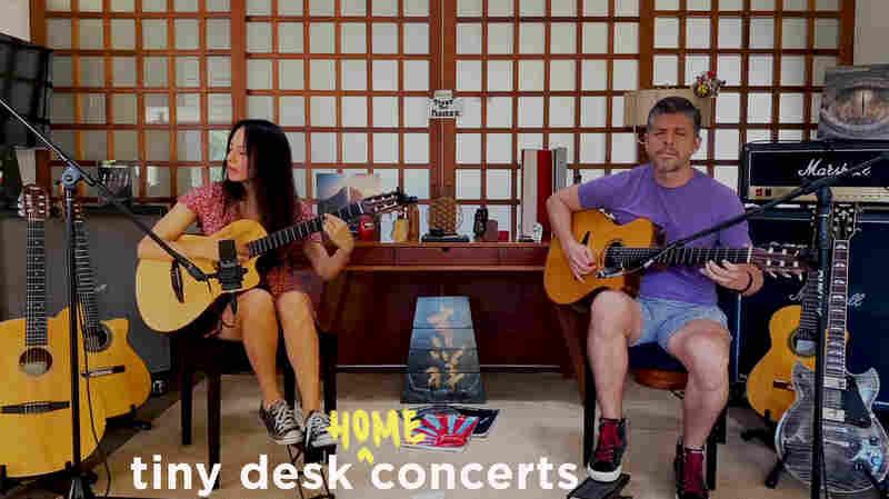 Rodrigo y Gabriela Play A Tiny Desk From Home