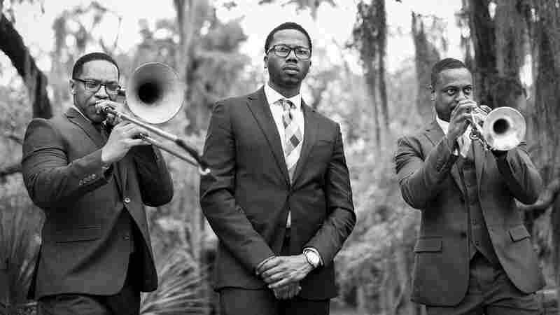 Watch New Orleans Give A Brass Band Funeral Send-Off With 'I'll Fly Away'
