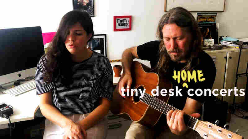 Buck Curran Plays A Tiny Desk From His Home In Italy