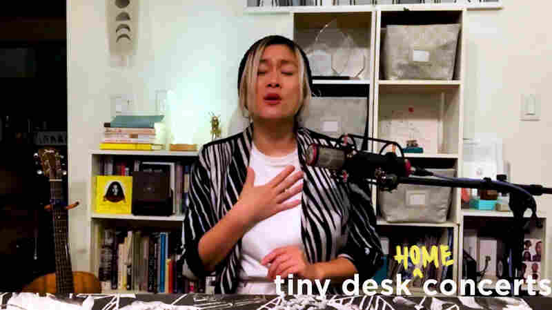 MILCK Performs A Deeply Moving Tiny Desk Set From Her Home In Los Angeles